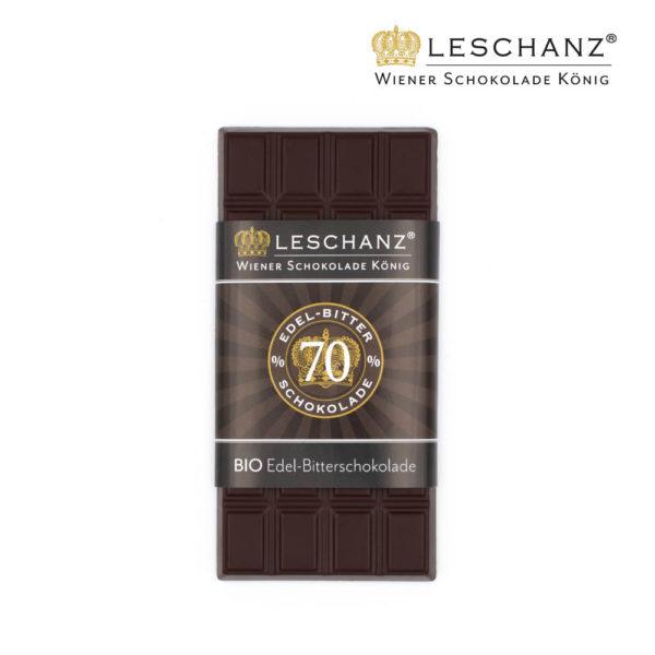 100g Tafelschokolade Bitter - 70% Kakao