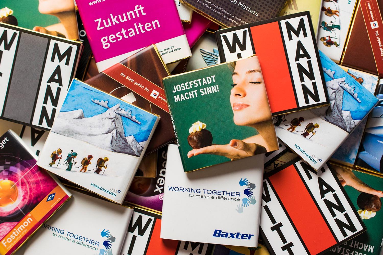Werbeschokoladen, 16g Sammelbild