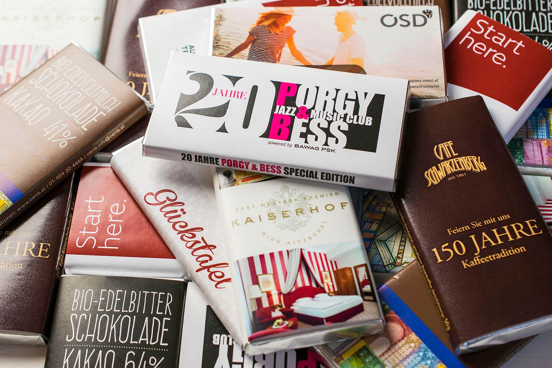 Werbeschokoladen, 50g Sammelbild